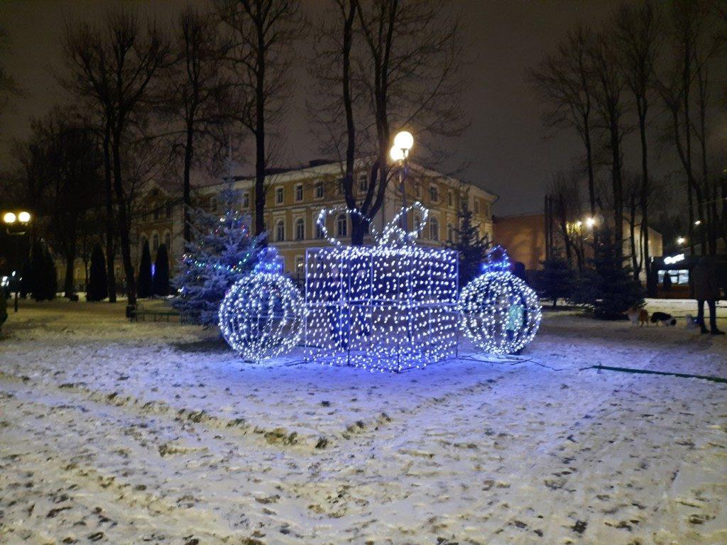 арт-объект Новый год