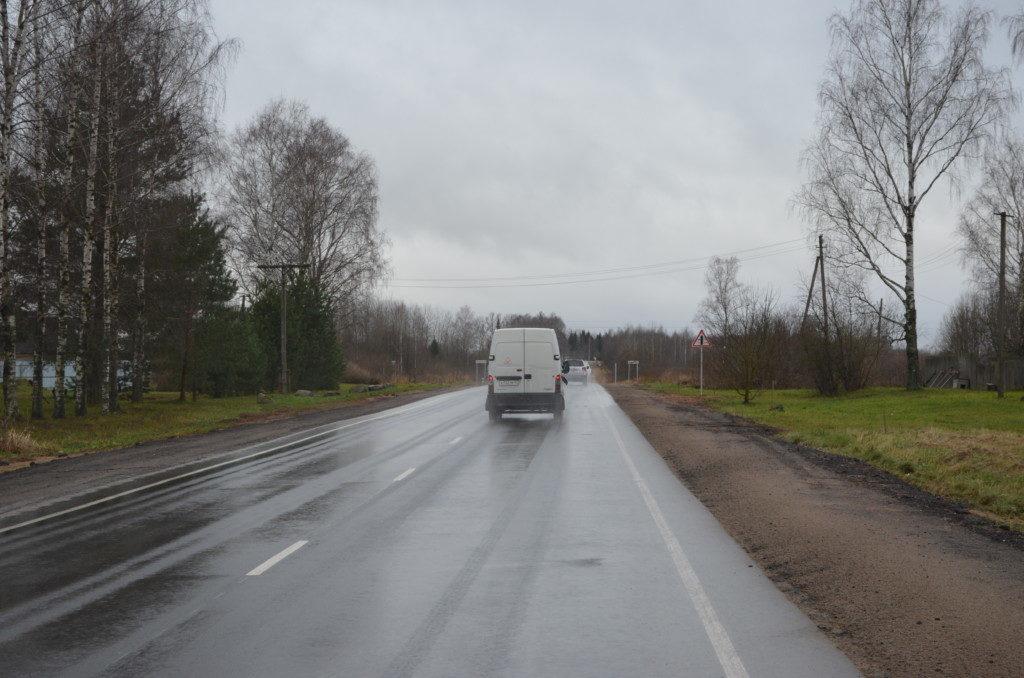 Дорогобуж, ремонт дороги по БКАД (фото пресс-службы СОГБУ Смоленскавтодор)