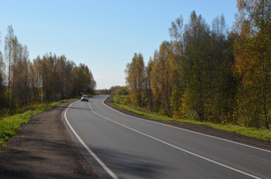 Ельня, ремонт дороги по БКАД (фото пресс-службы СОГБУ Смоленскавтодор)
