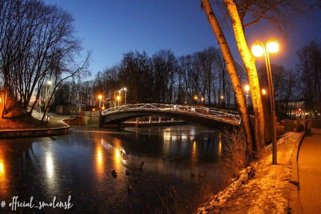 мост Лопатинский сад