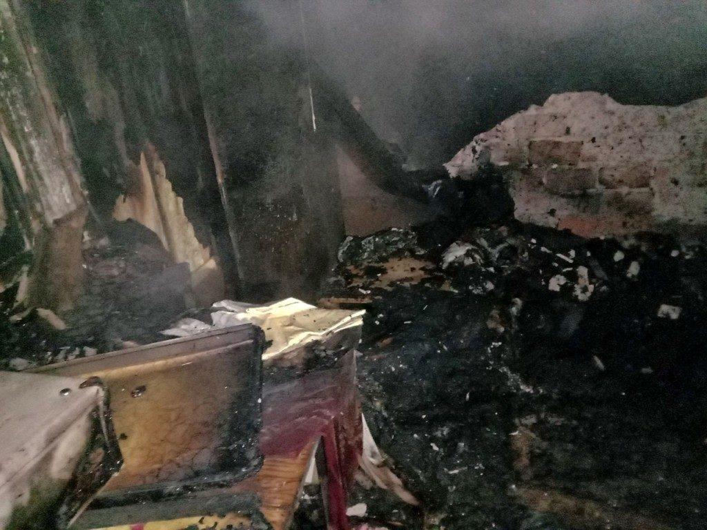 пожар смерть Гагаринский район
