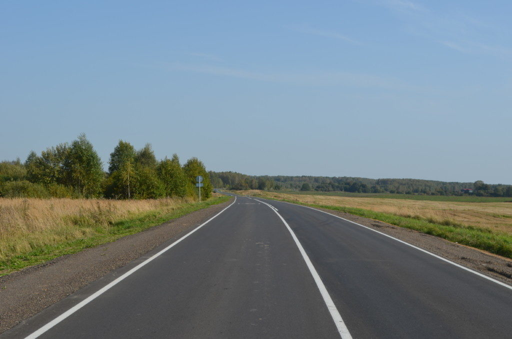Русилово, ремонт дороги по БКАД (фото пресс-службы СОГБУ Смоленскавтодор)