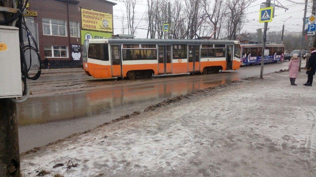 трамвай кашена