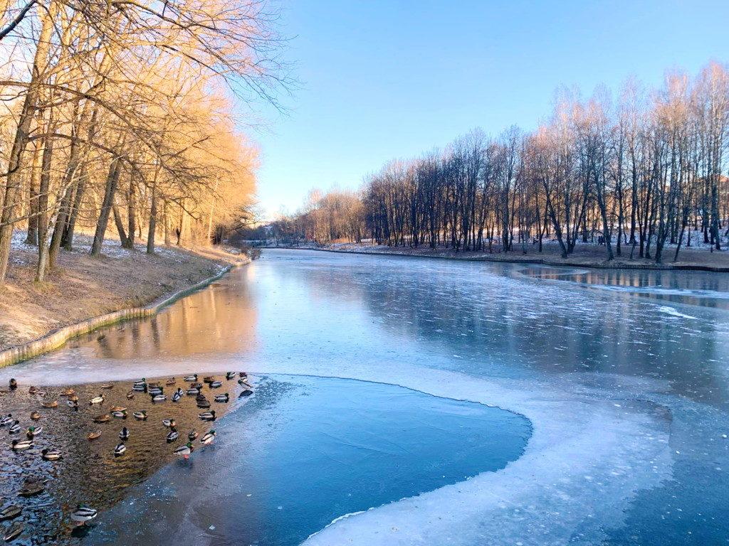 водоём в Соловьиной роще, декабрь 2020 (фото 67.mchs.gov.ru)