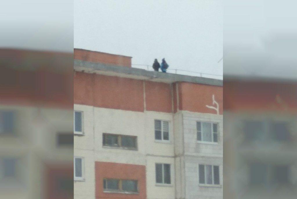 дети крыша Сафоново