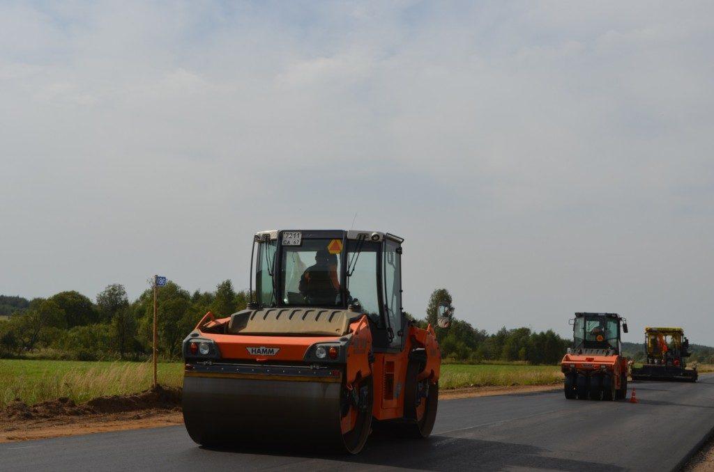 Дорогобуж, ремонт дороги 2020, нацпроект БКАД, Смоленскавтодор