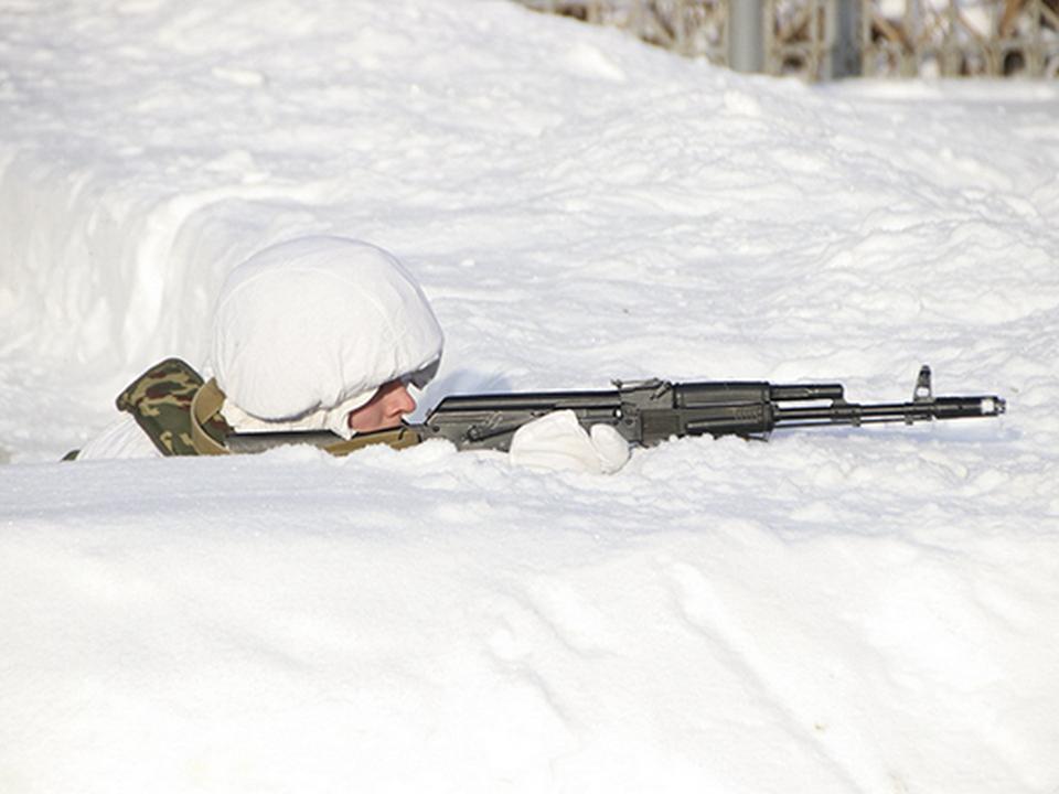 мотострелки, зима, окоп, стрельба, учения (фото mil.ru)