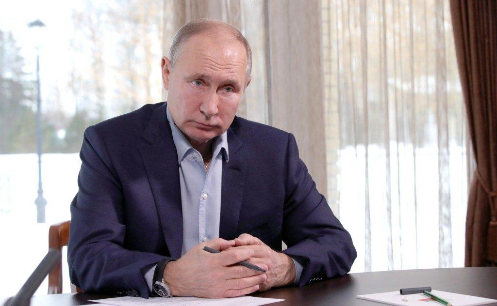 Путин, видеовстреча с учащимися вузов по случаю Дня российского студенчества (фото kremlin.ru)