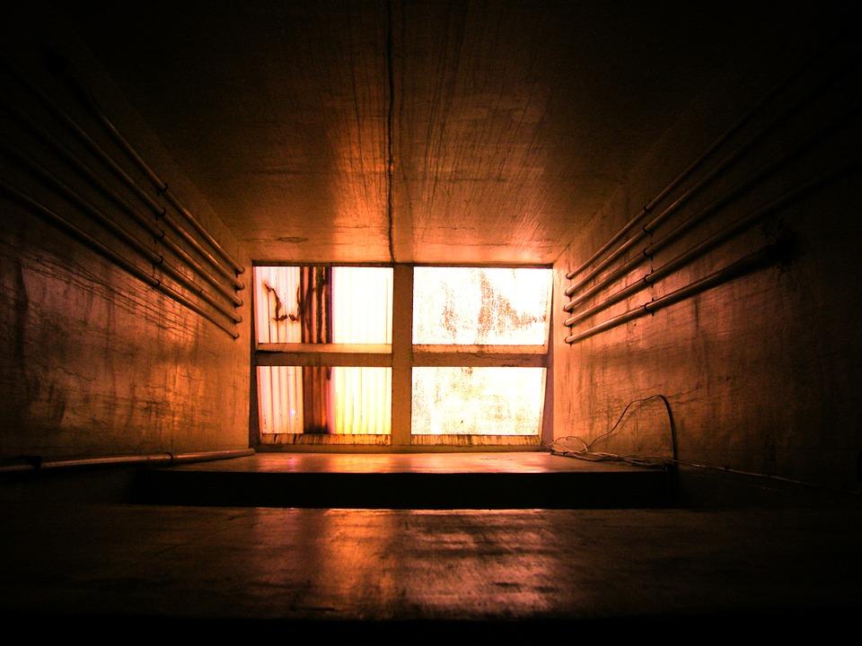шахта лифта, елеватора