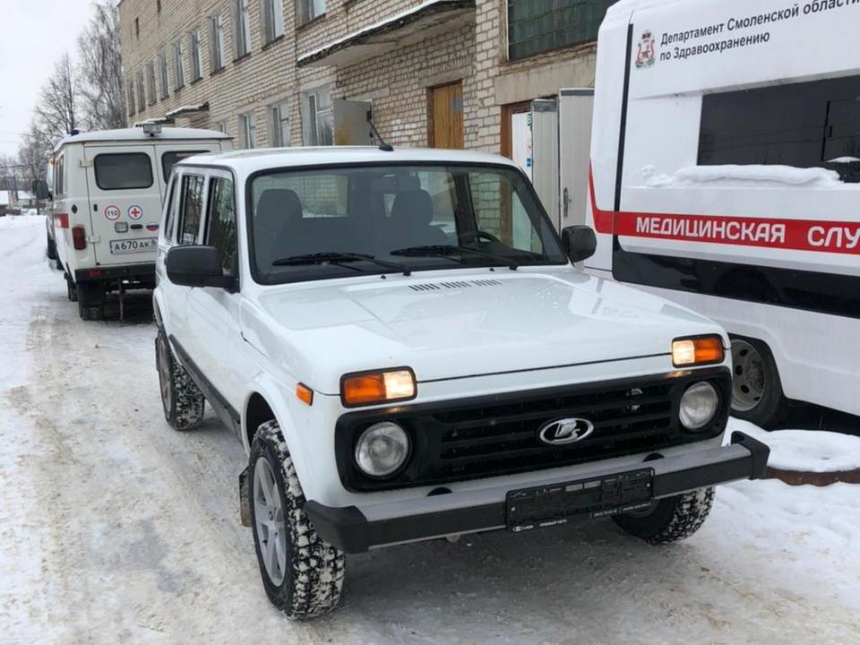 ВАЗ 21310 для медучреждения Смоленской области (фото admin-smolensk.ru)