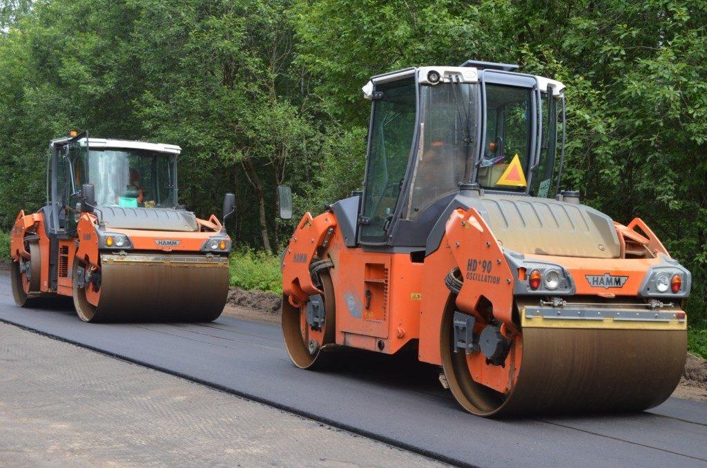 Вязьма, ремонт дороги 2020, нацпроект БКАД, Смоленскавтодор