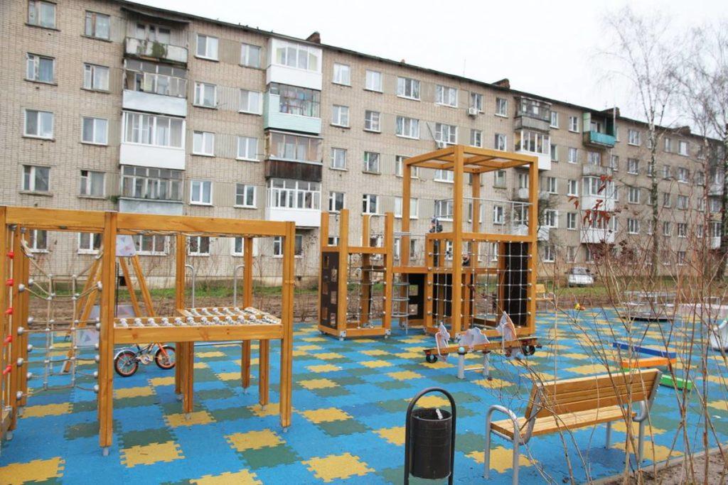 городская среда площадка