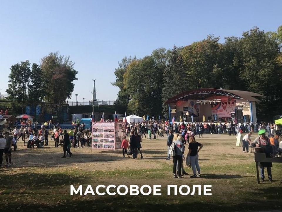 Массовое поле Лопатинского сада (фото vk.com ostrovskylive1)