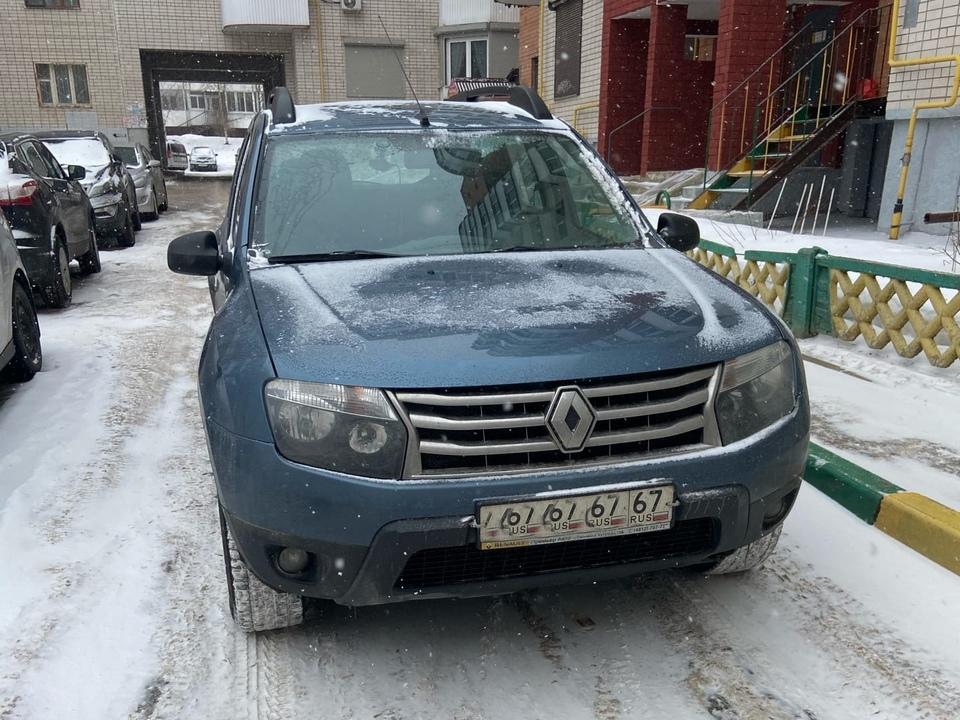 автохам 12.03.2021, Renault Duster, улица Пригородная (фото vk.com id315275913)