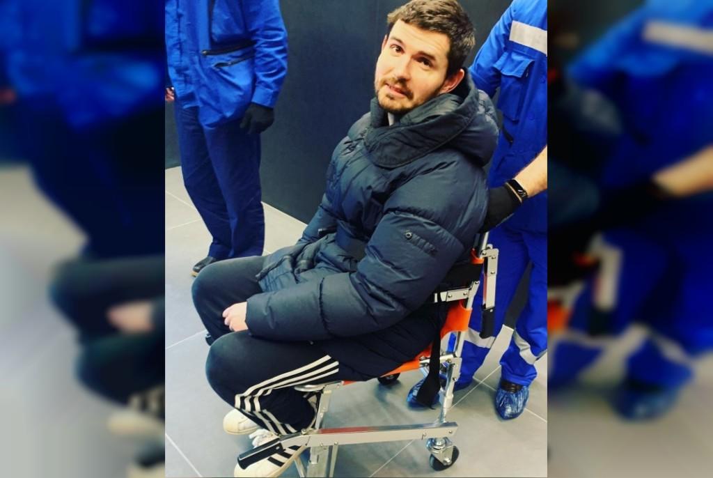 госпитализация в Москве Ивана Алексеева со спинной грыжей (фото instagram.com noizemc )