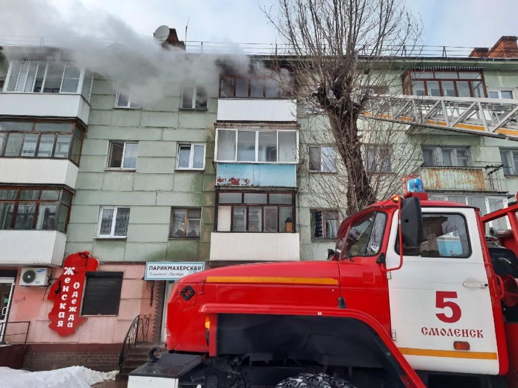 пожар николаева