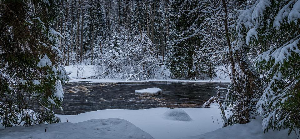 рек лёд половодье