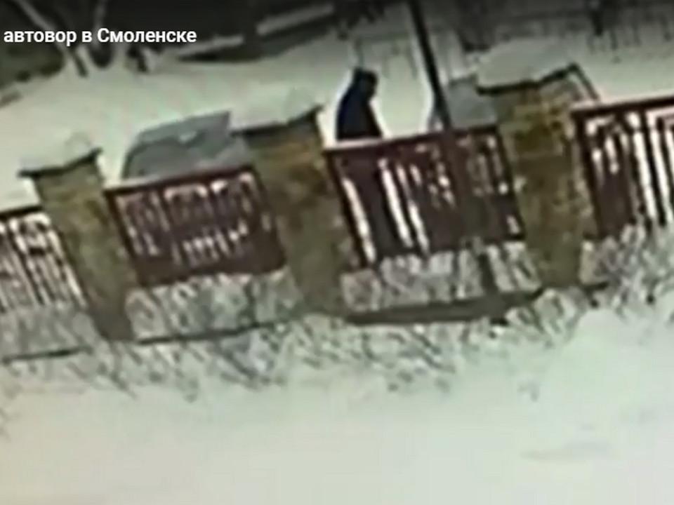 серийный автовор в Смоленске, ранее судимый из Коми (кадр видео 67.mvd.ru)