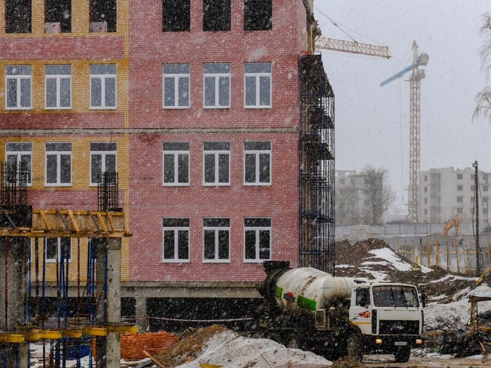 строительство школы 16.03.2021 в Соловьиной роще