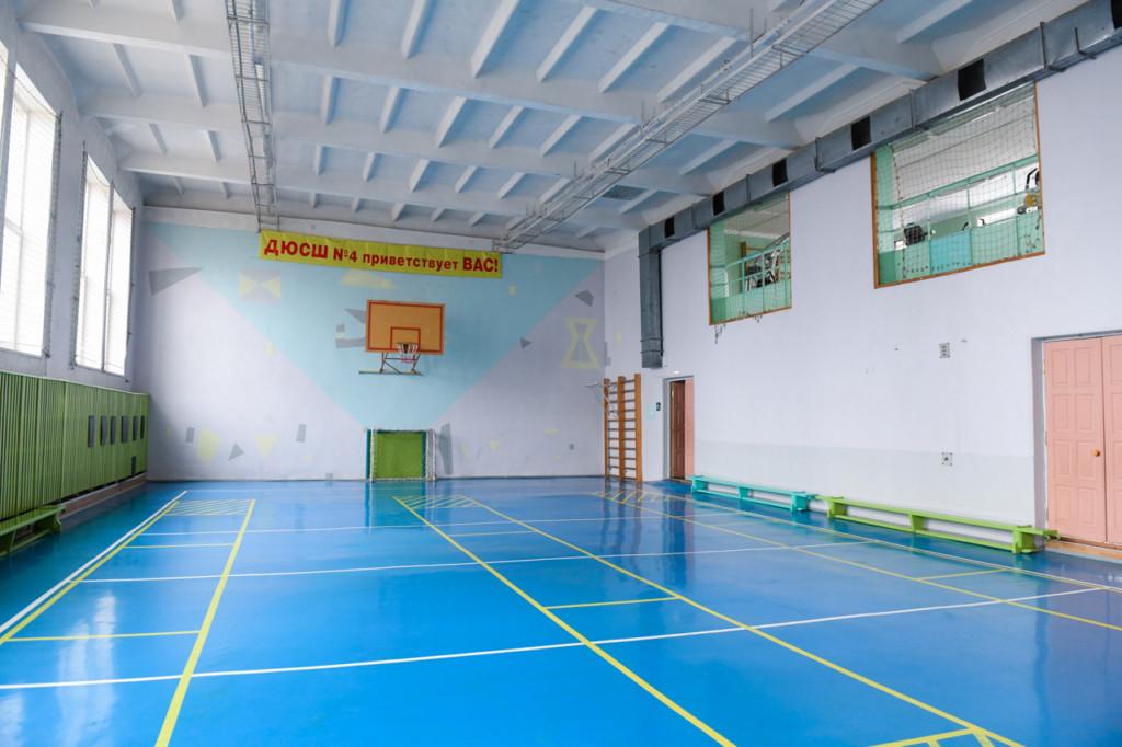 зал спортшколы №4 Смоленска (фото admin-smolensk.ru)