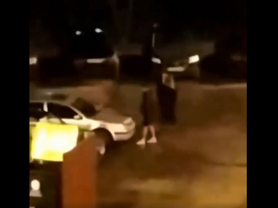 автовандал в Алтуховке (кадр видео instagram.com podslushanosmolensk)