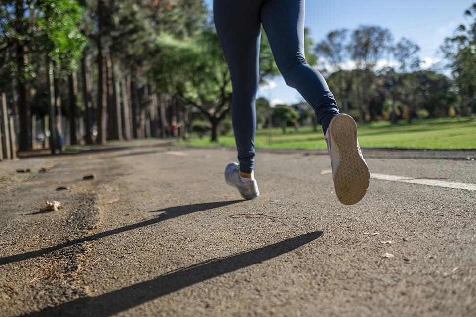 бег пробежка спорт