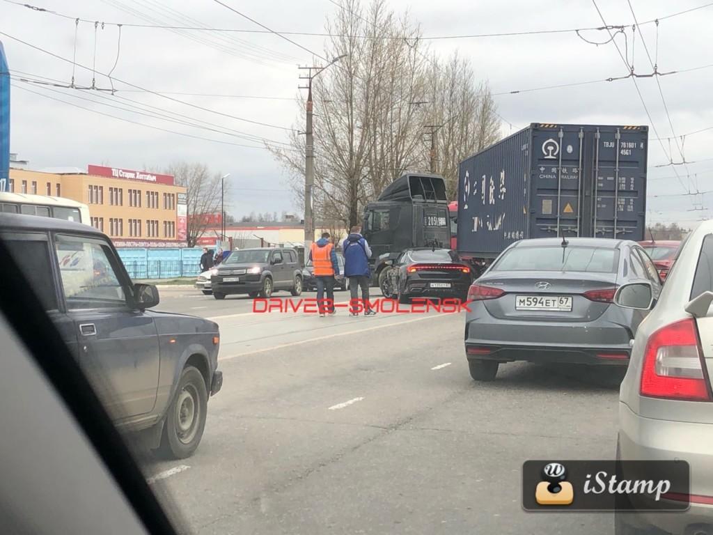 ДТП фура смоленск
