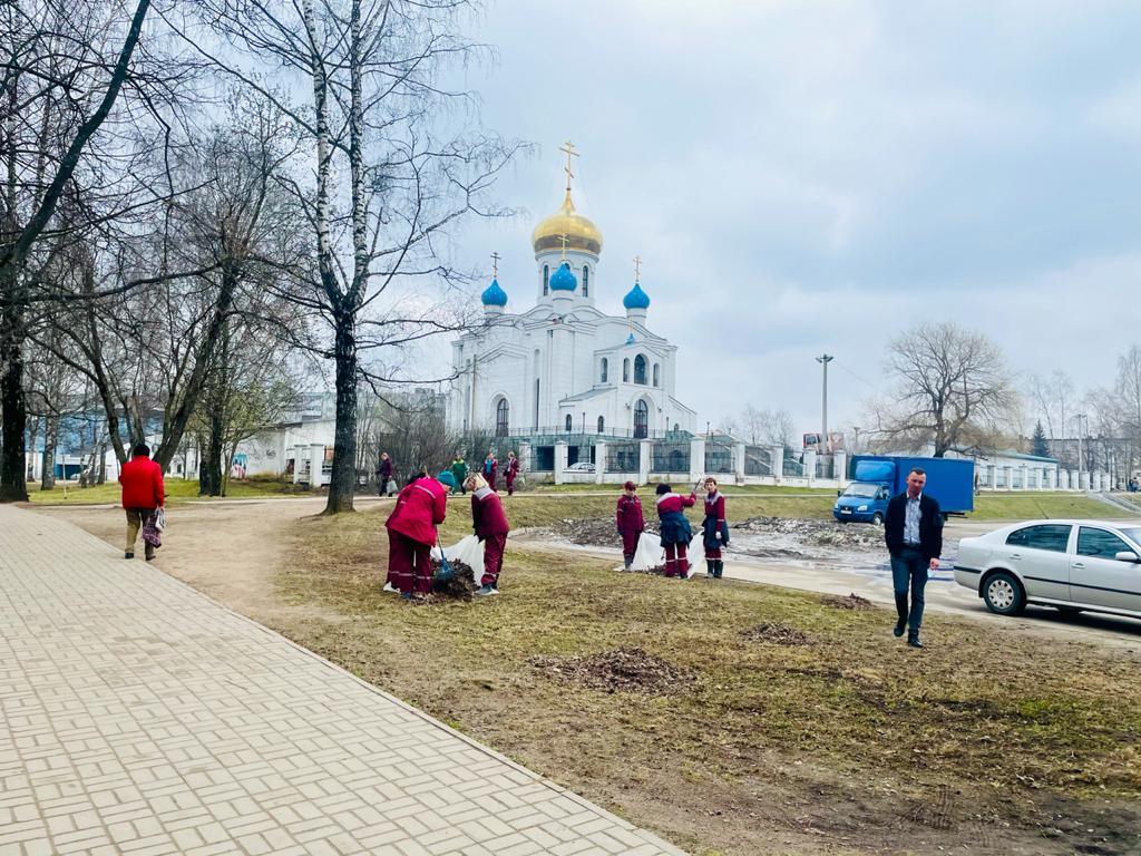 генуборка парка 1100-летия Смоленска и прилегающих территорий_5