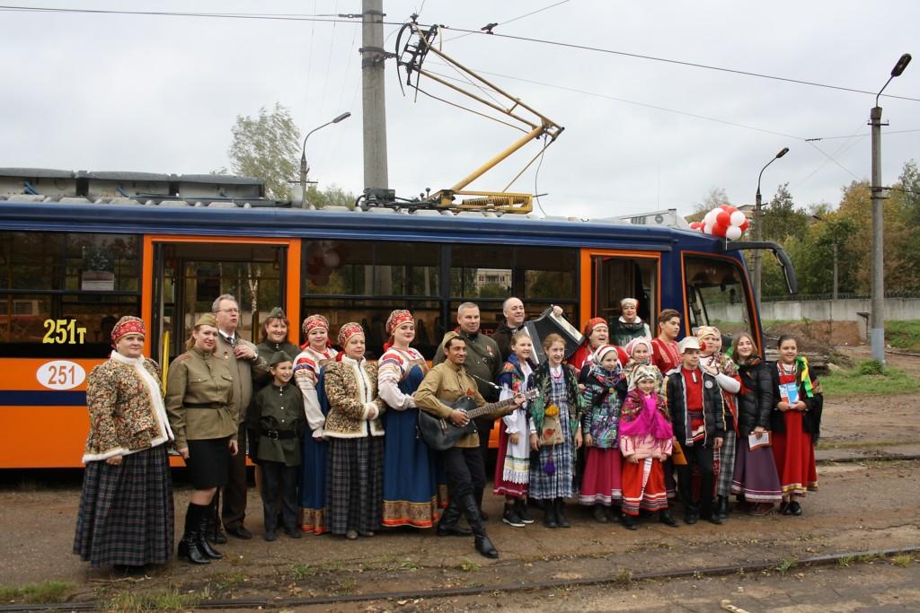 трамвай Победы, ансамбль, депо (фото smoladmin.ru)