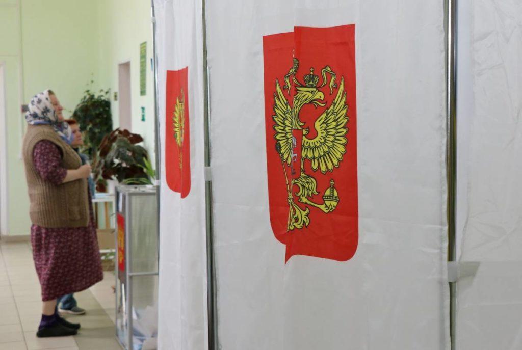 кабина для голосования, праймериз Единой России (фото smolensk.er.ru)