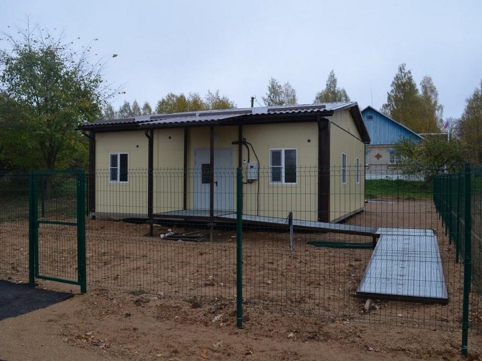 модульный фельдшерско-акушерский пункт, ФАП (фото vk.com depzdrav67sml)