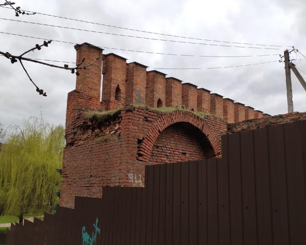 обрушение прясла XXI крепостной стены в мае 2021 года_4