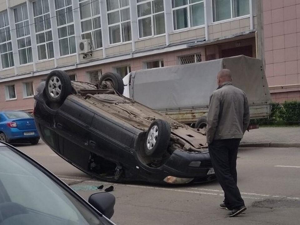 опрокидывание на крышу 20.05.2021, Opel, Исаковского