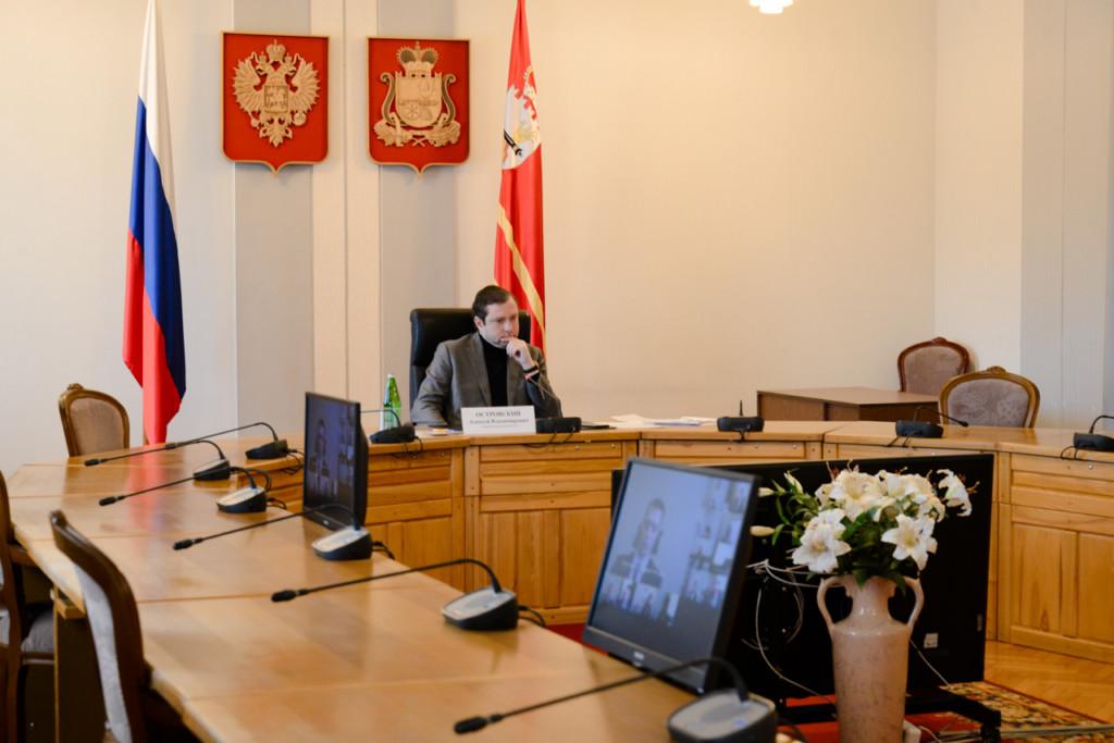 Островский, совещание по итогам отопительного сезона-2020-2021 (фото admin-smolensk.ru)