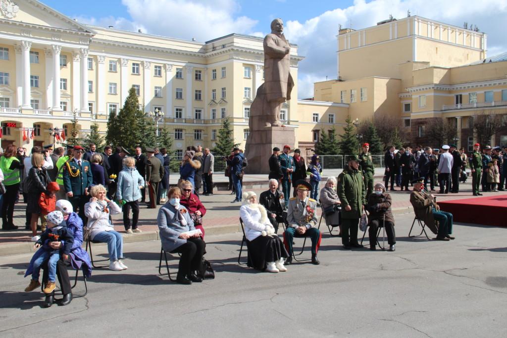 Парад Победы 9.05.2021 в Смоленске (1)