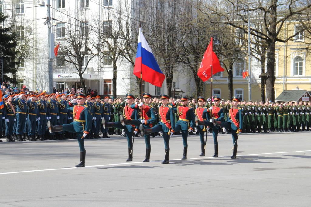 Парад Победы 9.05.2021 в Смоленске (2)