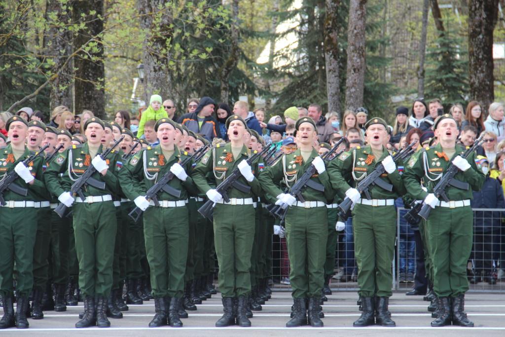 Парад Победы 9.05.2021 в Смоленске (9)