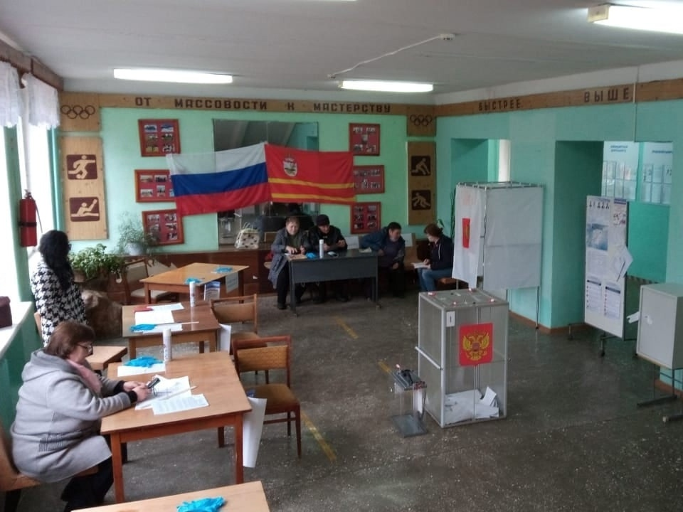 выборы, голосование в Смоленской области (фото vk.com rosh_67)