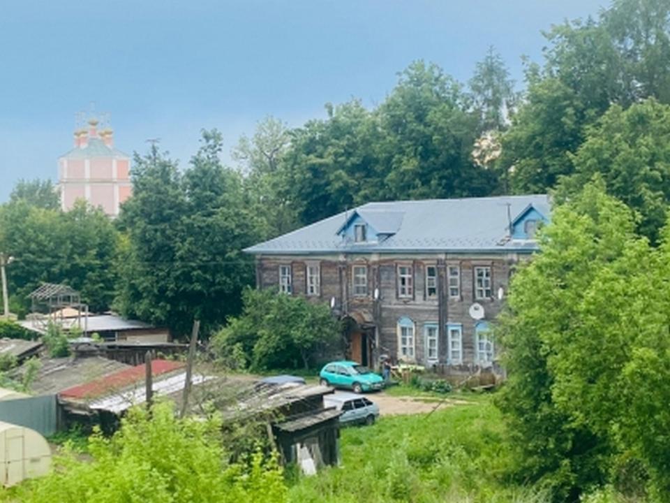 аварийный дом в Гагарине (фото smolensk.sledcom.ru)