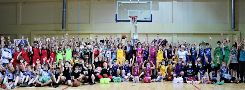 командное фото баскетбол