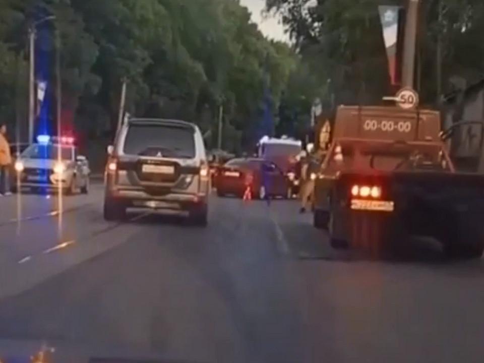 массовое ДТП 14.06.2021 на улице Дзержинского