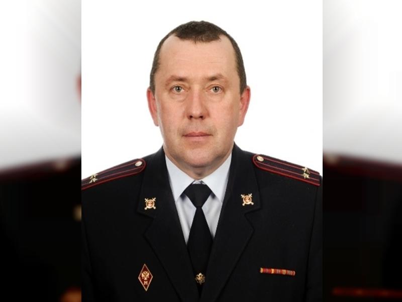 начальник МО МВД России «Руднянский» Михаил Косьяненко