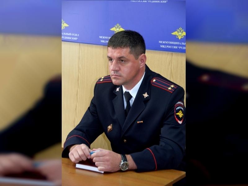 начальник ОМВД России по Смоленскому району Дмитрий Фадеев