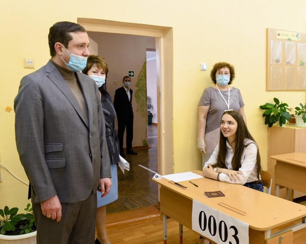 Островский, пункт проведения госэкзаменов, ЕГЭ, Пригорская средняя школа (фото admin-smolensk.ru)