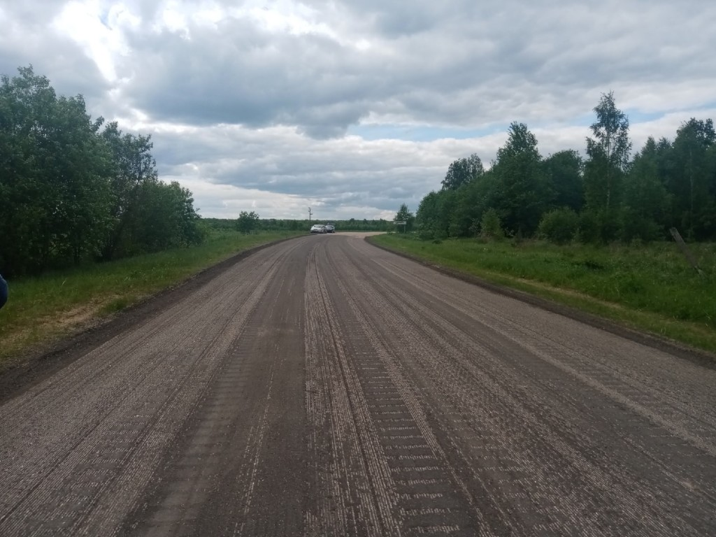 Смоленскавтодор, фрезерование участка дороги Смоленск-Вязьма-Зубцов