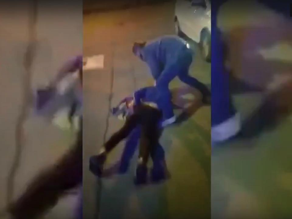 задержание наркодилеров из Ярцева (кадр видео 67.mvd.ru)