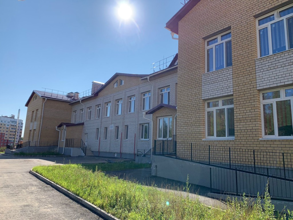 детский сад на Королёвке, август 2021 (фото kapstr.admin-smolensk.ru)