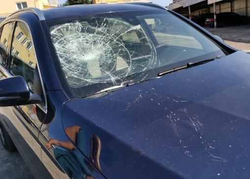 разбил авто