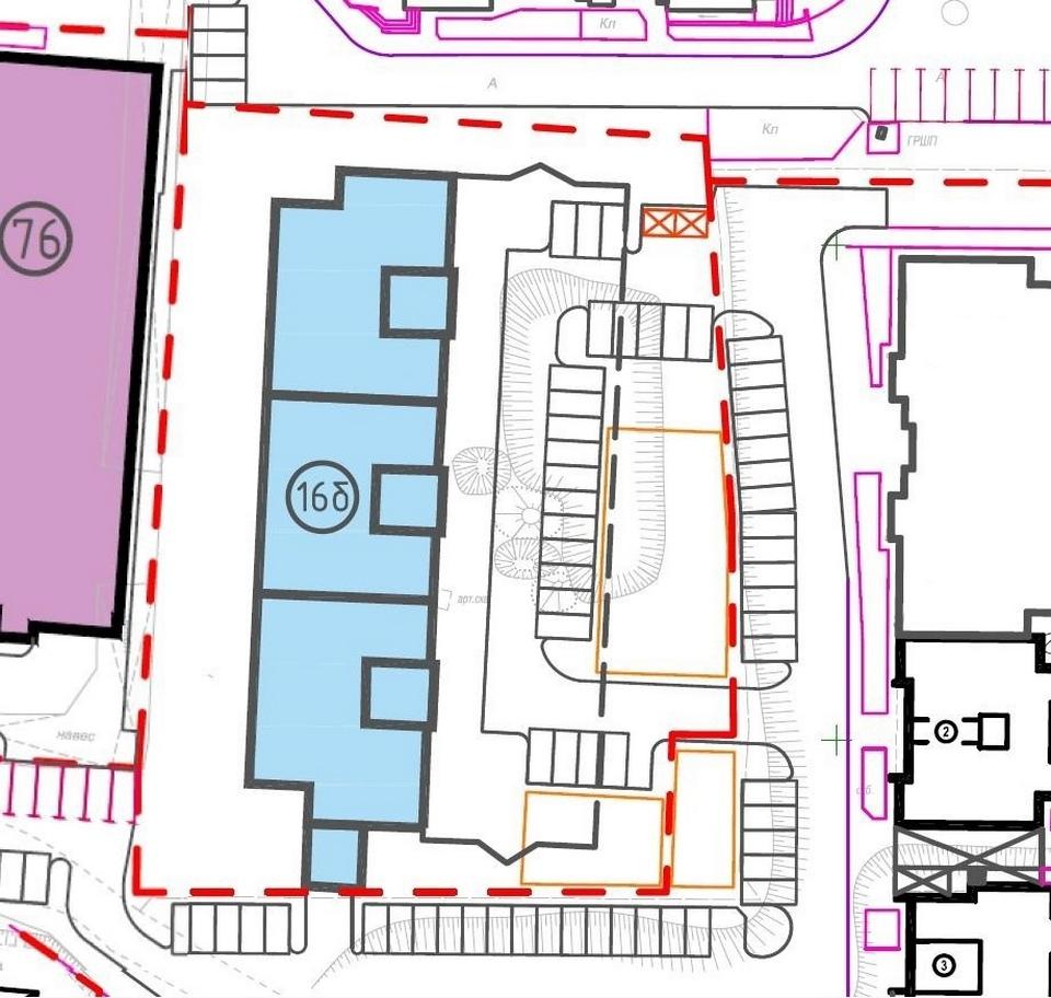 схема строительства Строинвестпроектом Верейкина 10-этажного дома на Семичевке, проспект Гагарина (иллюстрация vk.com semichevka)