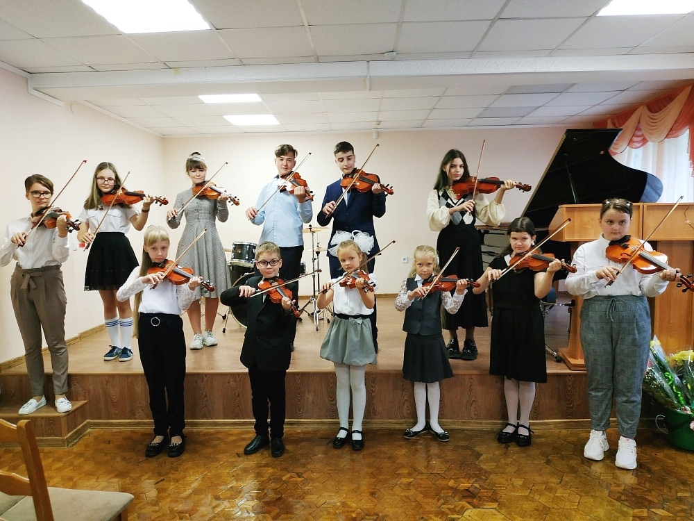 скрипки дети